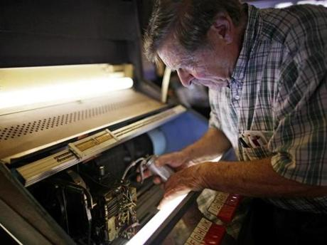 Garnick has spent a lifetime repairing, restoring, and treasuring jukeboxes.